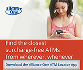 Find ATM with Alliance One